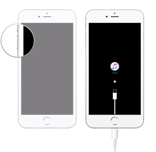 iPhone 7 в DFU режим